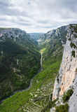 Gorge du Verdon in Provence Royalty Free Stock Image