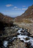 Gorge et fleuve Images libres de droits