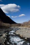 Gorge et fleuve Photos libres de droits