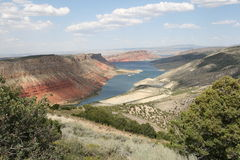Gorge flamboyante, Utah Photo libre de droits