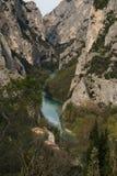 The gorge of Furlo (Pesaro - Urbino) Royalty Free Stock Image