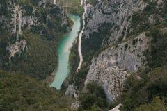 The gorge of Furlo (Pesaro - Urbino) Royalty Free Stock Photo