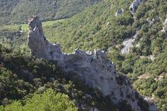 Gorge of Galamus Stock Photos