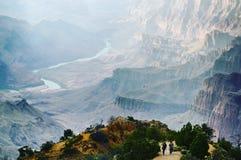 Gorge grande Photos libres de droits