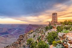 Gorge grande, Arizona, Etats-Unis image stock