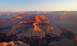 Gorge grande au lever de soleil Image libre de droits