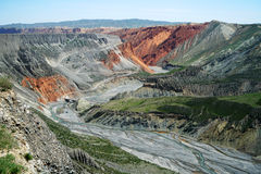 Gorge grande colorée Image libre de droits