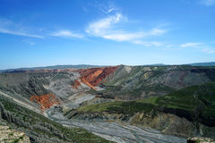 Gorge grande colorée Photos stock