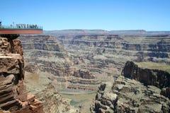Gorge grande de Skywalk photo libre de droits