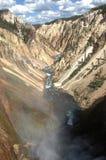 Gorge grande de Yellowstone Image stock