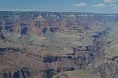 Gorge grande du Fleuve Colorado E Formations géologiques image stock