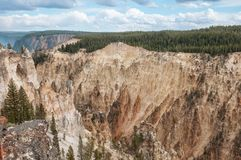 Gorge grande du Yellowstone Images stock