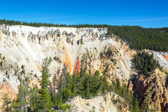 Gorge grande du Yellowstone photos libres de droits