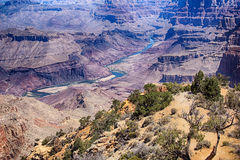Gorge grande Vista photo libre de droits