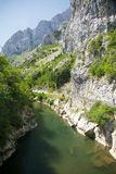 Gorge Los Beyos Stock Image