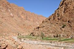 gorge Maroc de dades Photos libres de droits