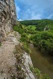 Gorge National Park Nerei- Beusnita, Romania Royalty Free Stock Photo