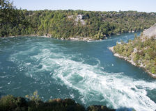 The gorge on the Niagara River Stock Images