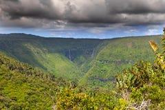 Gorge noire de rivière Photo libre de droits
