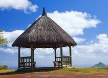 Gorge noire de rivière de parc mauritius Photo stock