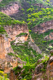 Gorge, ravine, canyon, chasm Royalty Free Stock Photography