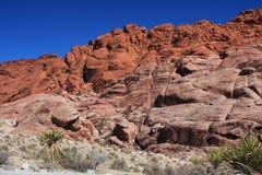 Gorge rouge de roche à Las Vegas Image libre de droits