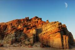 Gorge rouge de roche Photo libre de droits
