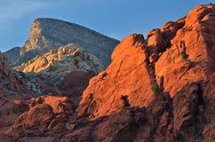 Gorge rouge de roche Photographie stock libre de droits