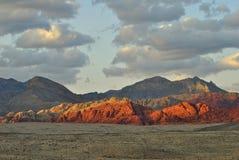 Gorge rouge de roche Photos libres de droits