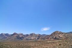 Gorge rouge de roche Image libre de droits
