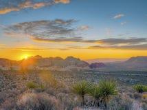 Gorge rouge de roche, Nevada image libre de droits