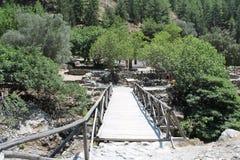 Gorge Samaria, Крит Стоковое фото RF