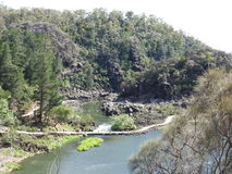 Gorge Scenic Chairlift over First Basin, Launceston, Tasmania Stock Images