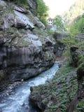 Gorge Switzerland Stock Image