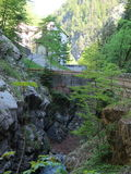 Gorge Switzerland Royalty Free Stock Photo