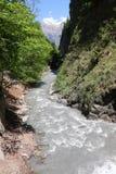 Gorge Switzerland Stock Photo