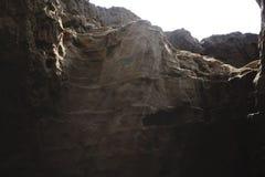 Gorge and vast high desert the dark one. Stock Image