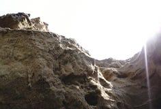 Gorge and vast high desert on the dark one . Stock Photo