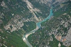 Gorge Verdon стоковые изображения rf