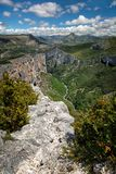 Gorge Verdon Стоковые Фото