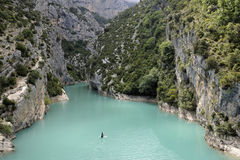 Gorge of Verdon Royalty Free Stock Photography