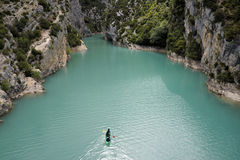 Gorge of Verdon Stock Photography