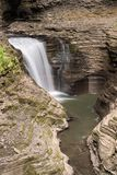 Gorge Waterfall stock photo