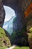 gorge in wulong, chongqing, china Royalty Free Stock Photography