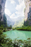 gorge in wulong, chongqing, china Royalty Free Stock Photography