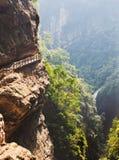 Gorge in wulong, chongqing, china Stock Photography