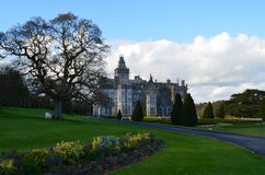 Gorgeous Adare Manor in Ireland`s Limerick County. Beautiful look at Adare Manor in Ireland Stock Image