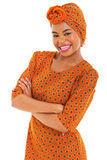 Gorgeous african woman Royalty Free Stock Photo