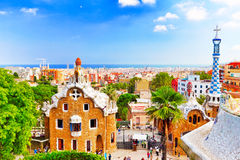 Gorgeous and amazing Park Guel. Stock Photography