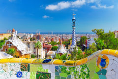 Gorgeous and amazing Park Guel. Royalty Free Stock Photo